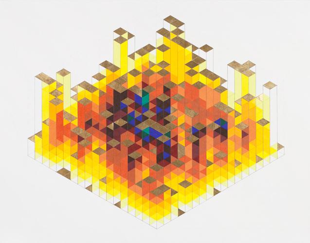 Golden Parachutes, 8x8xR, by James Bills