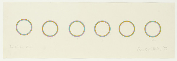Bridget Riley, Fine Line Open Discs