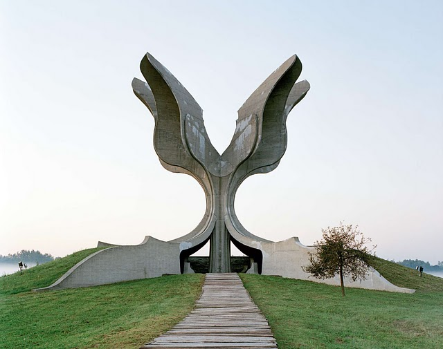 Jasenovac Memorial by Jan Kempenaers
