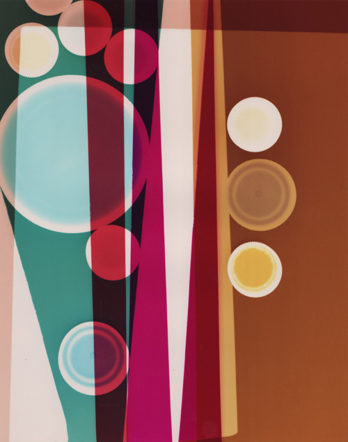 Aircolors, abstract photograms by Lisa Gidley