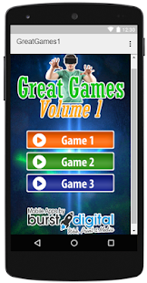 Great Games Volume 1 - náhled