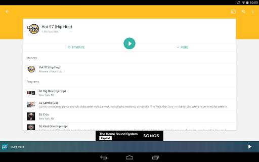 TuneIn Radio - Radio & Music screenshot 10