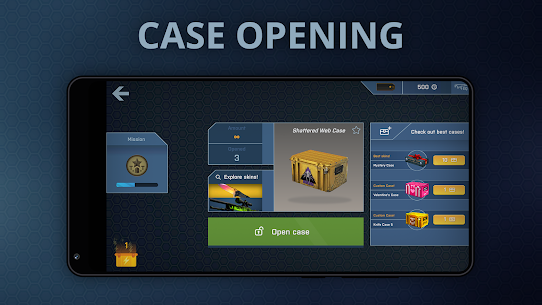 Case Opener – skins simulator with minigames  Apk Download For Android and Iphone 5