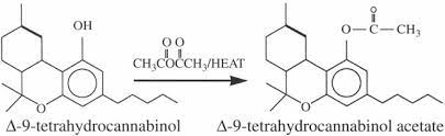 synthesis of THCO