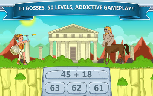 Math Games - Zeus vs. Monsters 1.19 screenshots 18