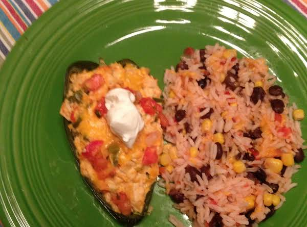 Served With Mexican Rice