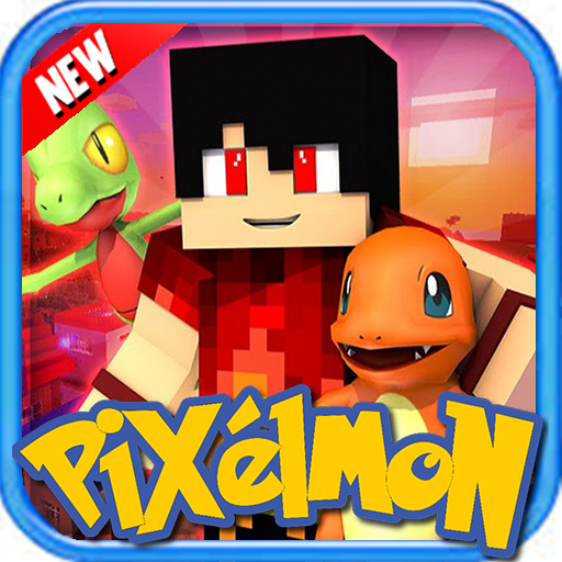 Pixelmon epic world 3D multi: Craft and build PE