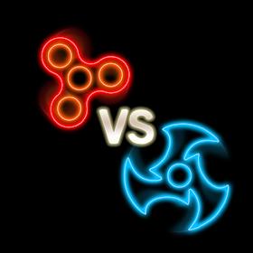 Fidget Spinner Battle Night