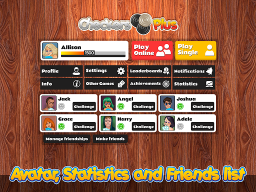 Checkers Plus - Board Social Games screenshots 15