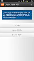 Screenshot of GfK Digital Trends App UK