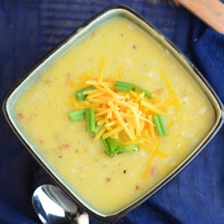 Quick & Easy Slow Cooker Potato Soup