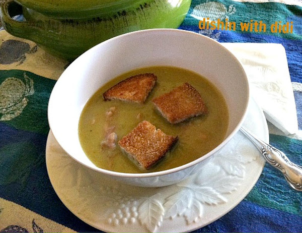 Working/busy Mom's Best Ever Split Pea & Ham Soup Recipe