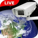 Live webcam online: Earth camera live streaming icon