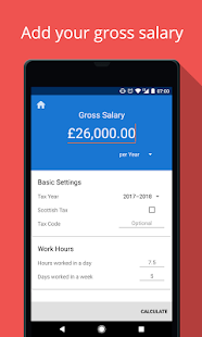 UK Salary Calculator - náhled