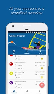 WindsportTracker - Windsurfing & Kitesurfing- screenshot thumbnail