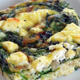 Spinach Feta Egg Bake