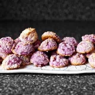 Raspberry Coconut Macaroons.