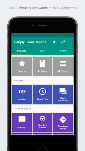 Simply Learn Japanese  screenshots 1