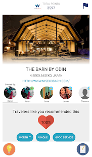 WishPoints for Social Travel- screenshot thumbnail