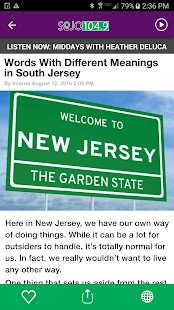 SoJO 104.9 - South Jersey's Own Variety (WSJO) - náhled