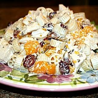 Sula's Orange Chicken Pasta Salad.