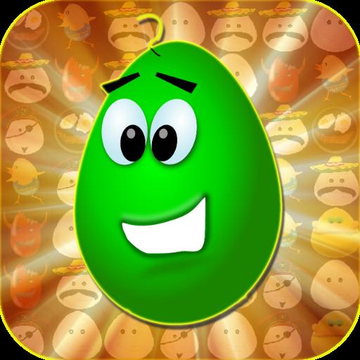 疯狂的蛋 休閒 App LOGO-硬是要APP