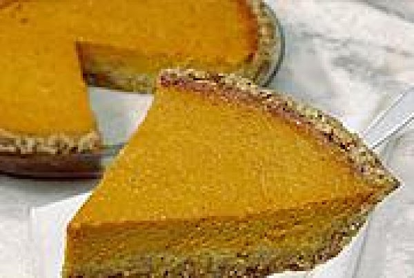 Crunchy Pumpkin Pie Recipe