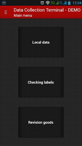 Data Collection Terminal