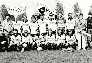 Photo: Kampioens elftal vv Vuren  1984