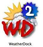 맥의 dock에서 날씨보기, WeatherDock