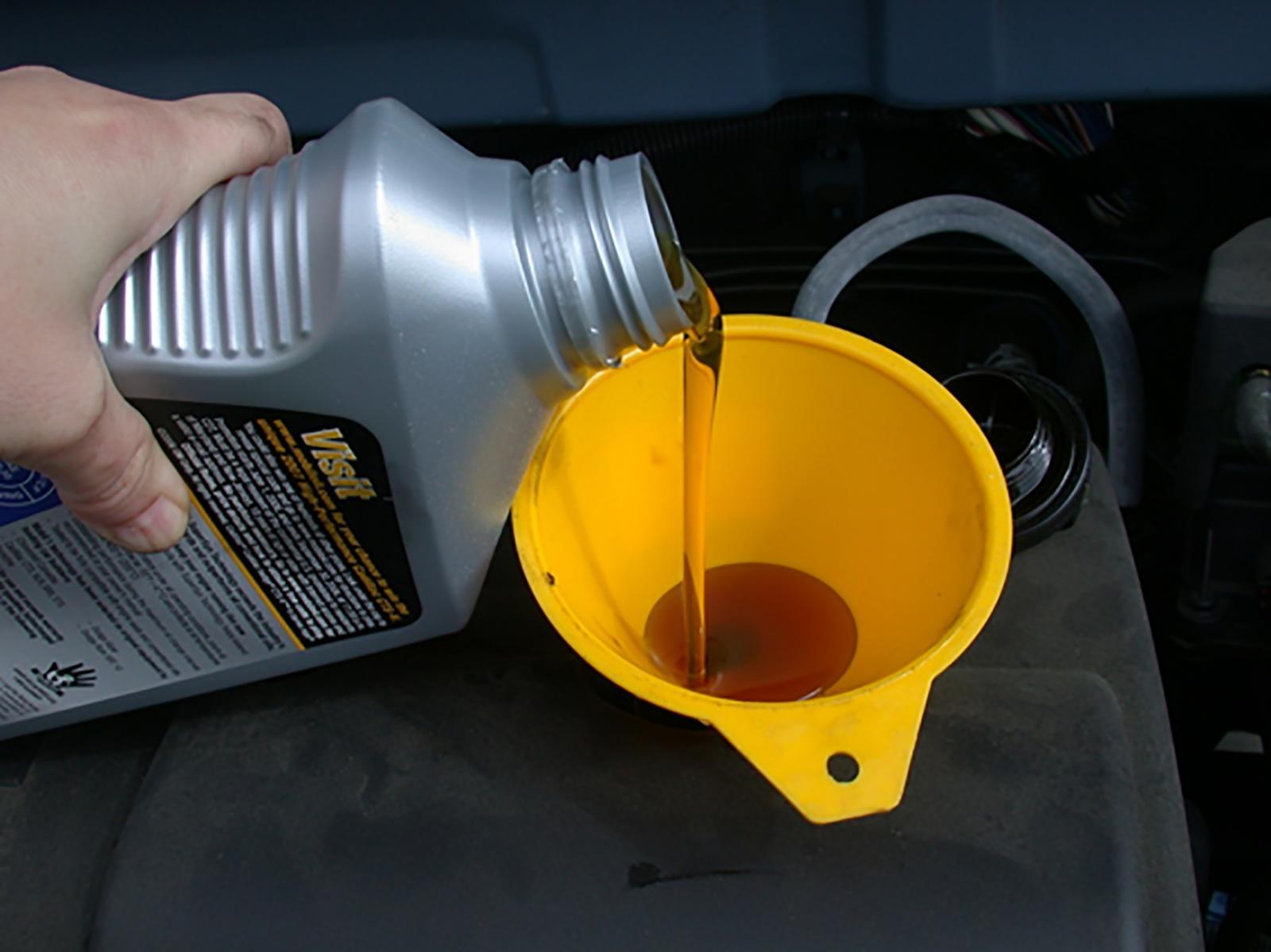 Cambiar el aceite de autos