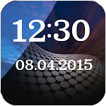 Glass Clock And Weather Widget 1.0 Apk