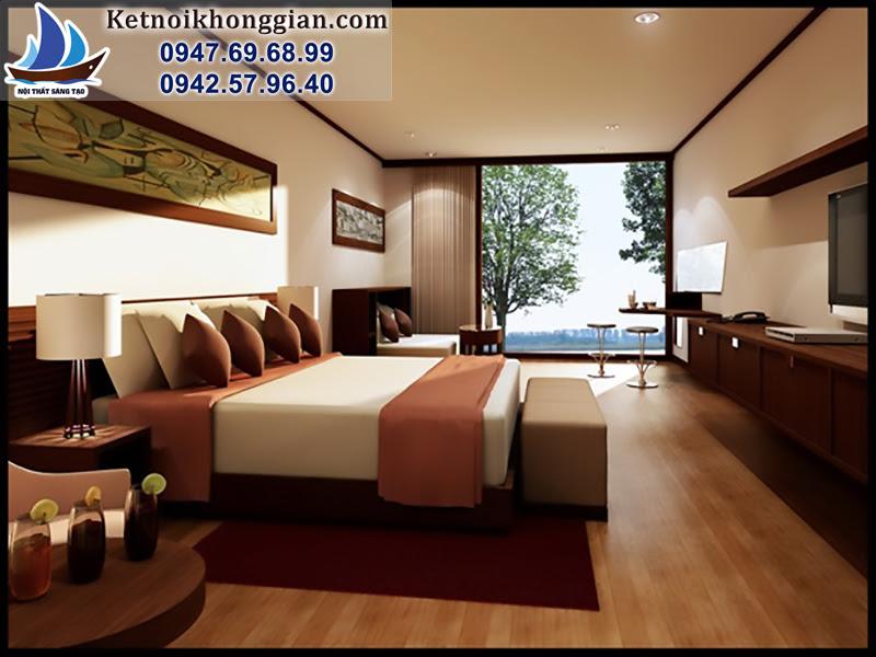 thiết kế phòng ngủ đẹp ấn tượng