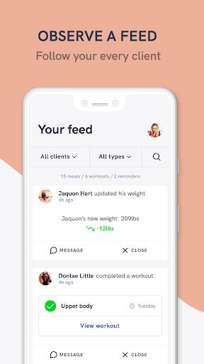 Kilo Fit - coach & trainer app screenshot 5