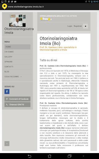 Otorinolaringoiatra Imola BO
