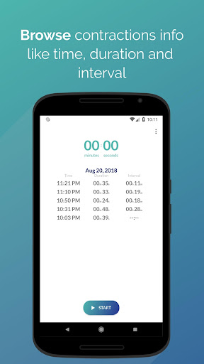 Labor: Contraction Timer Apk 2