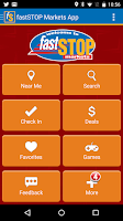 Screenshot of Fast Stop Markets App
