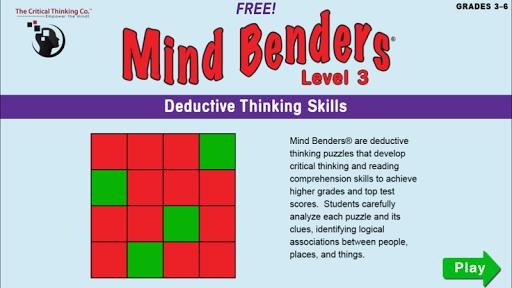Mind Benders® Level 3 Free