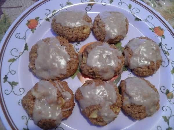Apple Crisp Cookies - Steph