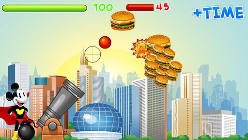 Mickey vs burger