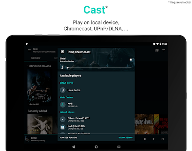 Yatse: Kodi remote and cast- screenshot thumbnail