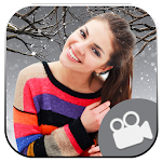 Snow Fall Photo Editor : Video Maker Icon