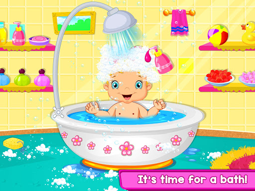 Nursery Baby Care - Taking Care of Baby Game apktram screenshots 13