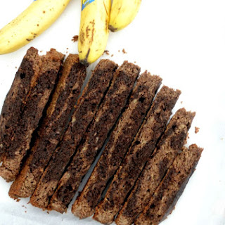 Slow Cooker Paleo Mocha Swirl Banana Bread