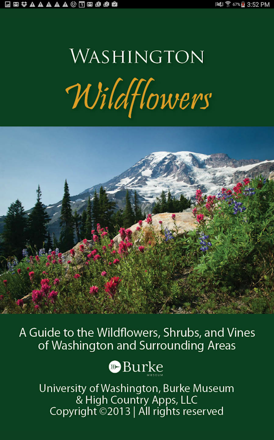 Washington Wildflowers- screenshot
