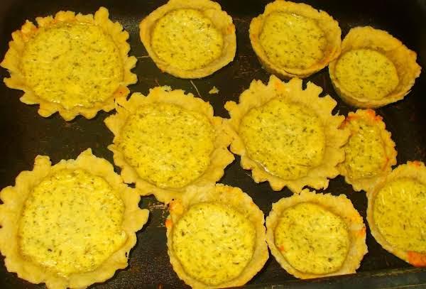 Mini Salted Cheese Tarts Recipe