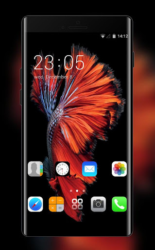 Wallpaper for iphone 6:IOS launcher for New iphone 1.0.3 screenshots 1