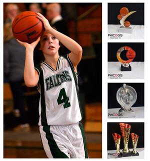 équipement sportif basket-ball, trophée basket, coupe,
