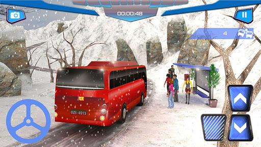 언덕 역 버스 시뮬레이터 3D