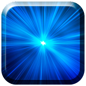 Blue Lasers Live Wallpaper
